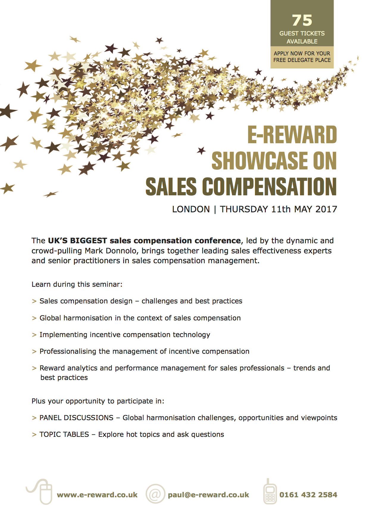 Sales comp brochure