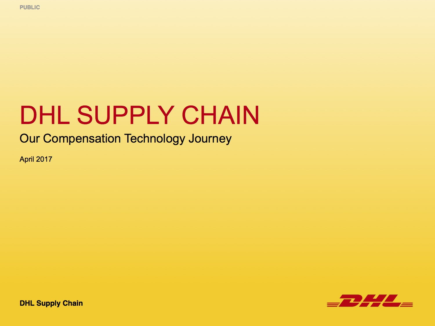 Download DHL Supply Chain PDF