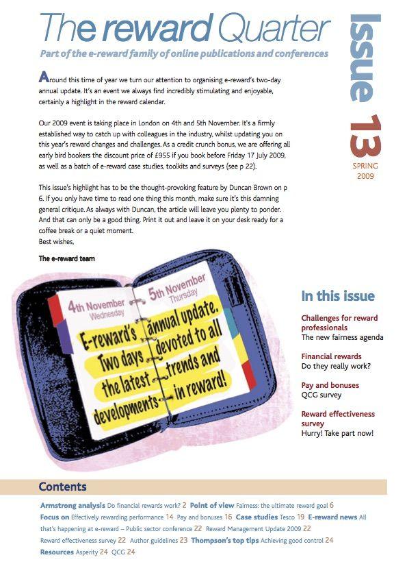 The Reward Quarter issue 13